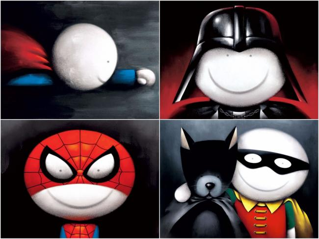 Master Of Disguise, Deluxe (Set Of 4) - Mounted by Doug Hyde