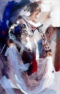 Bolero (canvas) by Christine Comyn