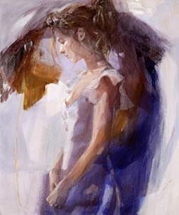 Beauty In Blue by Christine Comyn