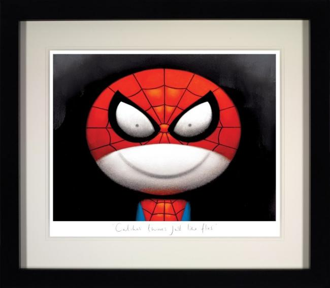Catches Thieves Just Like Flies (Deluxe) - Black Framed by Doug Hyde