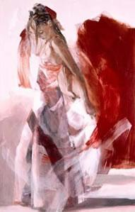 Elegance (canvas) by Christine Comyn