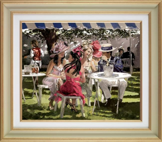 The Social Season Deluxe - Framed by Sherree Valentine Daines