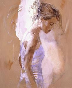 Reflection (canvas) by Christine Comyn