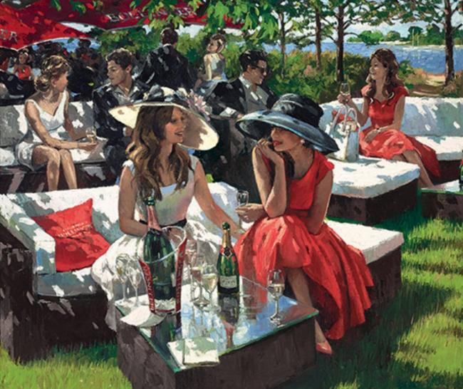 Champagne Bollinger Afternoon by Sherree Valentine Daines
