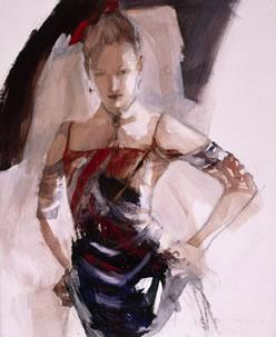 No Doubt (canvas) by Christine Comyn