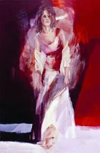 Orange Blossom (canvas) by Christine Comyn