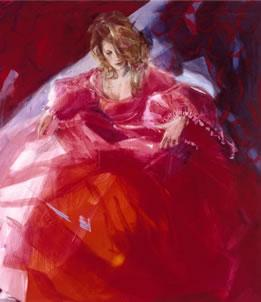 To The Ball (canvas) by Christine Comyn