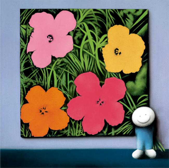 Andys Flowers by Doug Hyde