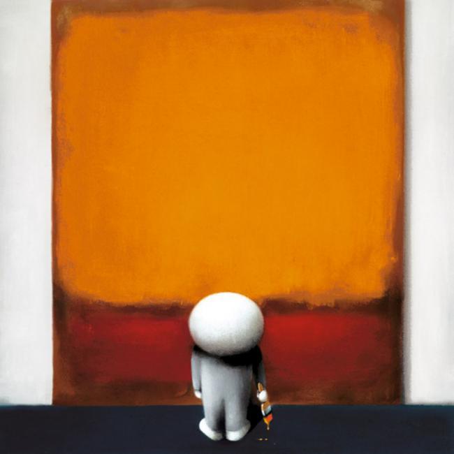 Rothkos Brushstroke Of Genius by Doug Hyde