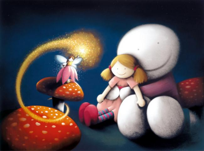 Make A Wish by Doug Hyde