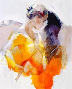 Affected By You (canvas) by Christine Comyn