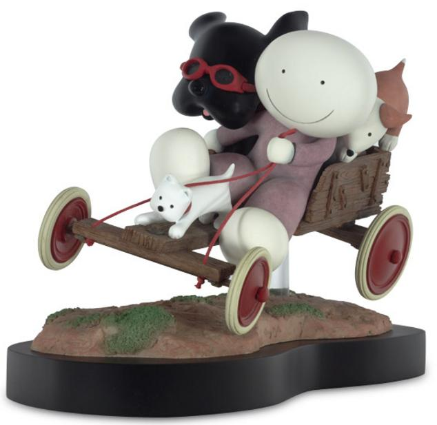 Hold On Tight - Sculpture  by Doug Hyde