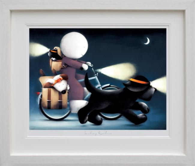 Sunday Riders - Framed by Doug Hyde