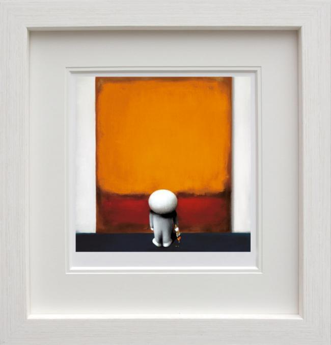 Rothkos Brushstroke of Genius - Framed by Doug Hyde