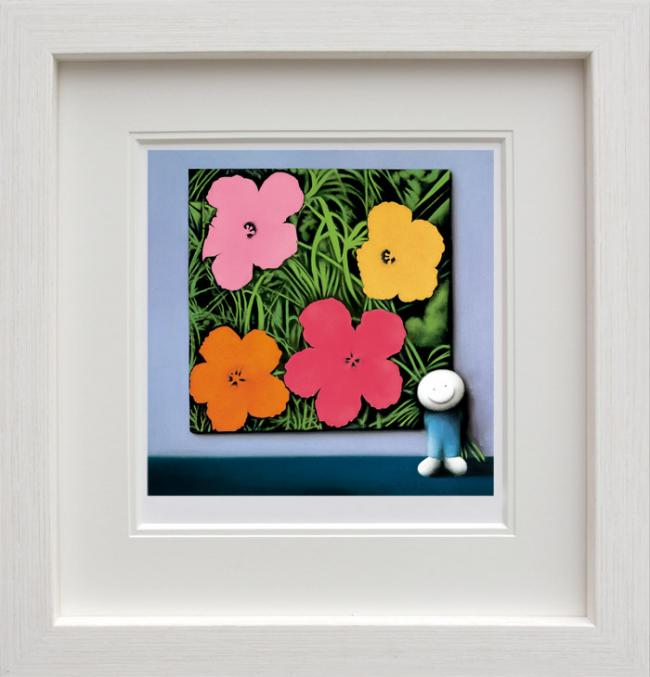 Andys Flowers - Framed by Doug Hyde