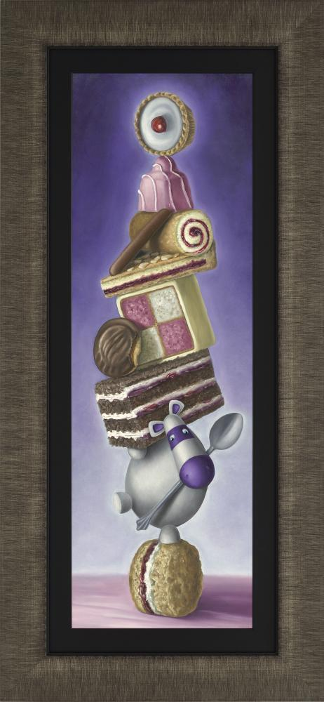 Rolling Scones - Framed by Peter Smith