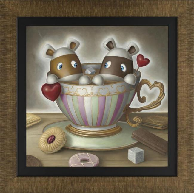 You're My Cup Of Tea - Framed by Peter Smith