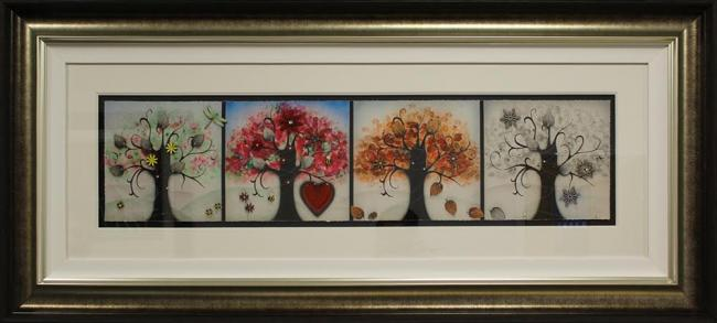 Four Seasons - Framed by Kealey Farmer