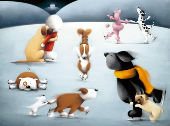 Dancing On Ice by Doug Hyde