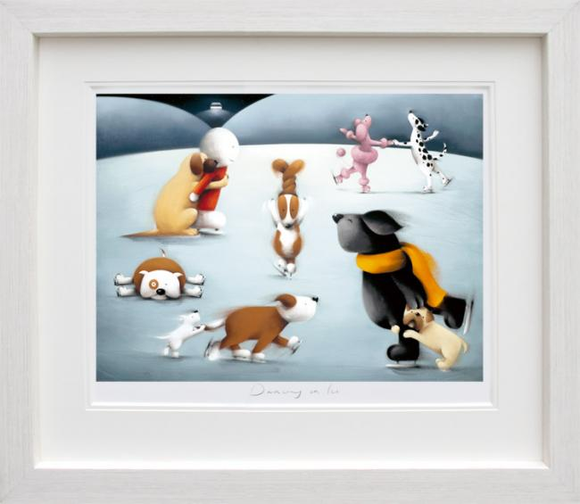 Dancing On Ice - Framed by Doug Hyde