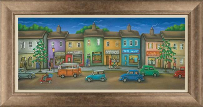 Friday Street - Framed by Paul Horton