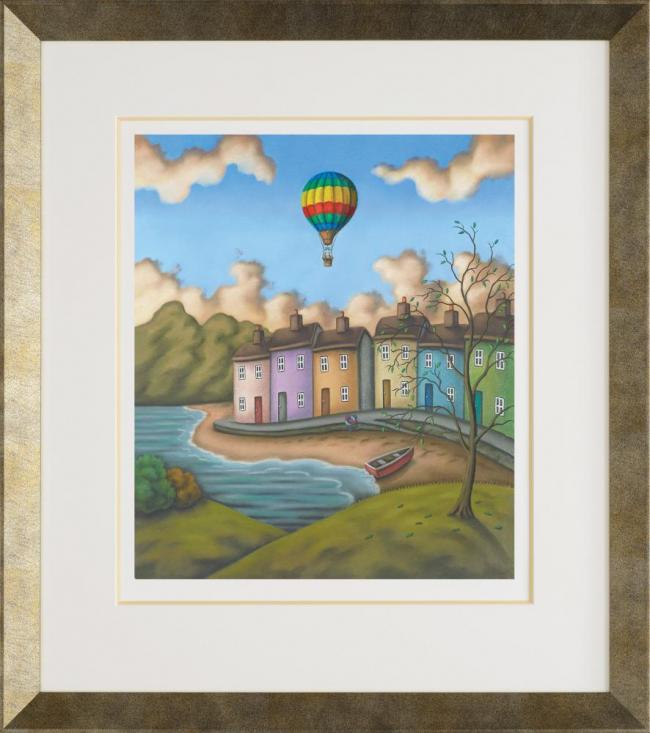 To Touch The Sky - Framed by Paul Horton