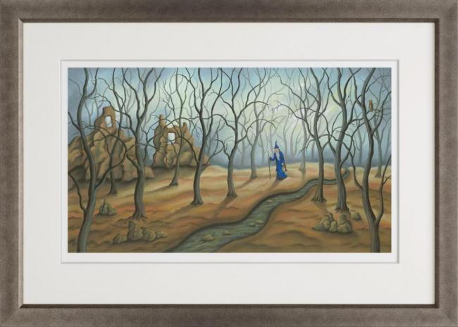 A Valid Path - Framed by Paul Horton