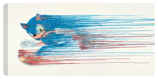 Speed Of Sound - Canvas - Box Canvas by Robert Oxley