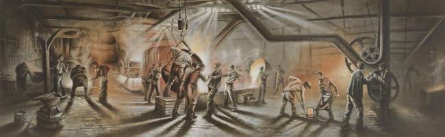 Forging Ahead by Bob Barker