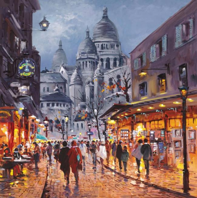 Sacre Coeur, Midnight - Board Only