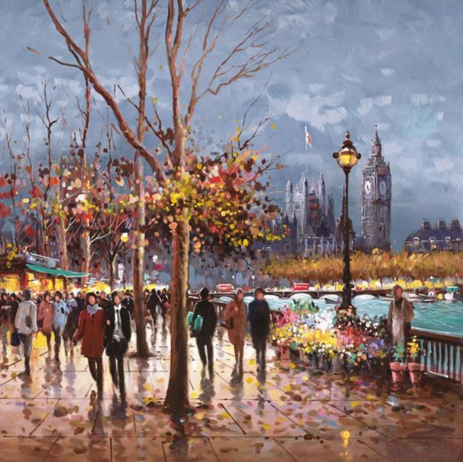 London By Lamplight - Board Only