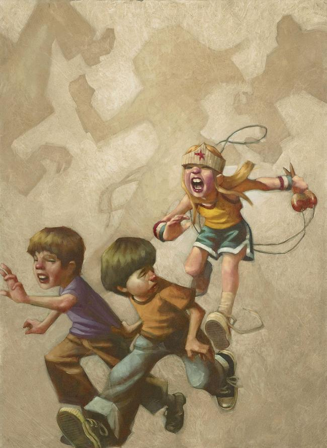 Grrrl Power by Craig Davison