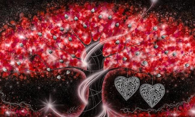 The Power of Love Red - Large - Framed by Kealey Farmer