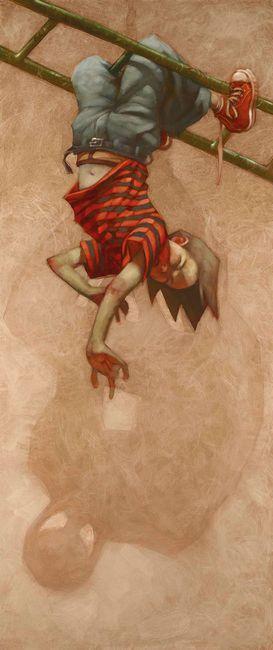 Spidey Sense Tingling - Canvas by Craig Davison