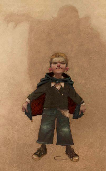 I Vant to Drink Your Blood - Canvas by Craig Davison