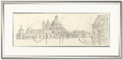 Venetian Vista By Adelene Fletcher Framed