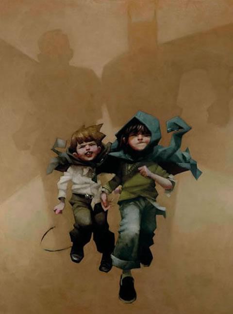 Holy Dash Batman! - Canvas - With slip by Craig Davison