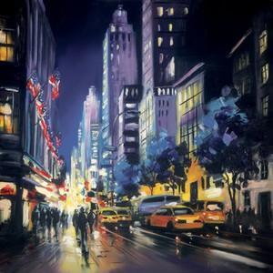 Ambient City II by Csilla Orban