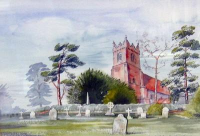 Fryerning Churchyard