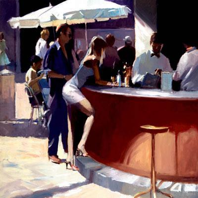 Cocktail Hour by David Farrant