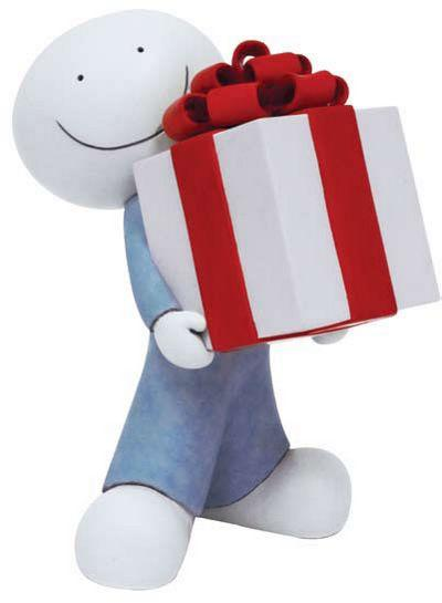 The Gift - Sculpture  by Doug Hyde