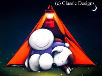 Happy Campers by Doug Hyde