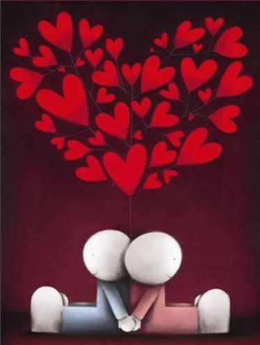 Hearts & Smiles by Doug Hyde