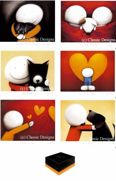 Miniatures Collection (Set Of 6 & Boxed) - Framed by Doug Hyde