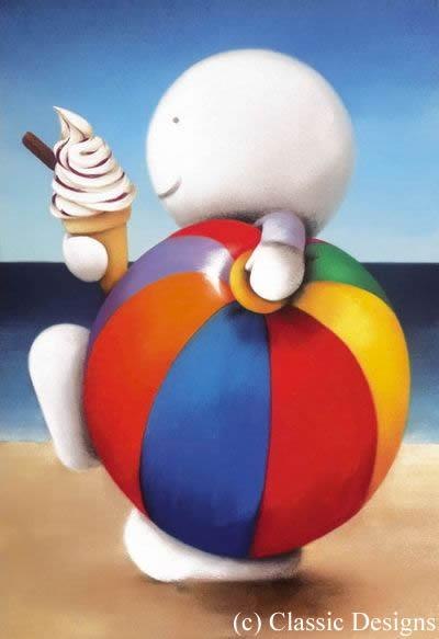 Summer Holiday - Mounted by Doug Hyde