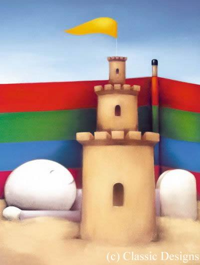 King Of The Castle - Framed by Doug Hyde