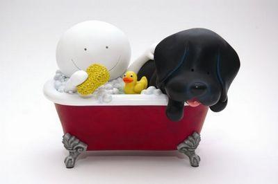 Mucky Pup - Sculpture  by Doug Hyde