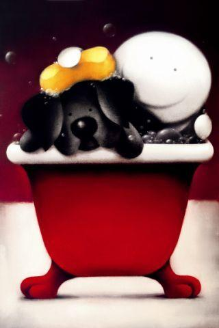 Mucky Pup - Mounted by Doug Hyde