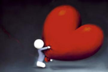 Racing Heart by Doug Hyde
