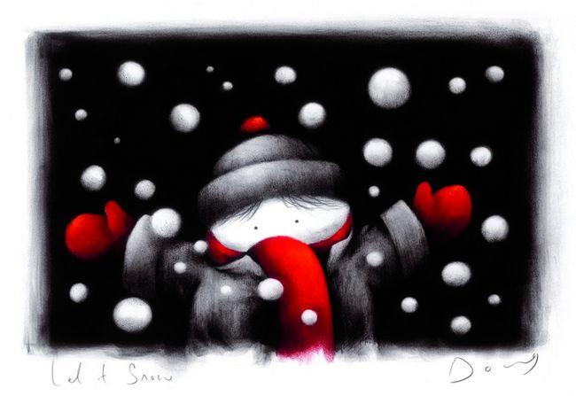 Let It Snow (Complementary Print) by Doug Hyde